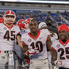 Luke Ford (45), Kearis Jackson (10) and Ahkil Crumpton (25)