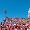 The UGA cheering section