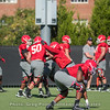 Offensive line drills