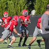 Mecole Hardman (4) at quarterback