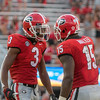 Tyson Campbell (3) and D'Andre Walker (15)