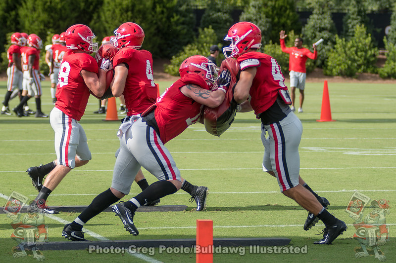 Isaac Nauta (18) and Luke Ford (45)