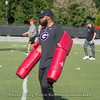 Ball security drill for receivers