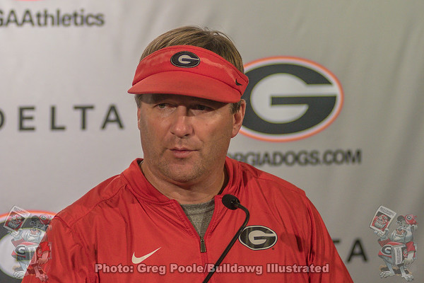Tuesday Presser Photos - Georgia vs. Vanderbilt 2018
