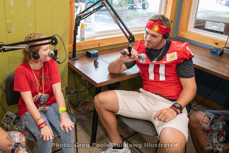 Interviewing Jake Fromm on Camp Sunshine Radio