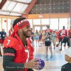 D'Andre Swift enjoying dodgeball