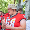 Georgia football players made their first of two annual visits to Camp Sunshine, June 20, 2018.