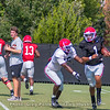 D'Andre Walker (15) make the play on Justin Fields (1)