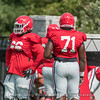 Soloman Kindley (66) and Andrew Thomas (71)