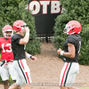 Elijah Holyfield (13), Jake Fromm (11) and Justin Fields (1)