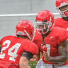 D'Andre Swift (7) and Prather Hudson (24)