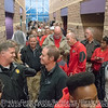The line waiting for a photo or autograph  - Anderson Area Touchdown Club Annual Awards Banquet - February 28, 2018
