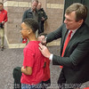 Kirby signs an autograph - Anderson Area Touchdown Club Annual Awards Banquet - February 28, 2018