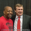 Daeon Cox and Kirby Smart - Anderson Area Touchdown Club Annual Awards Banquet - February 28, 2018