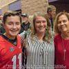 Will and Meredith Driver, Janet Roe - Anderson Area Touchdown Club Annual Awards Banquet - February 28, 2018