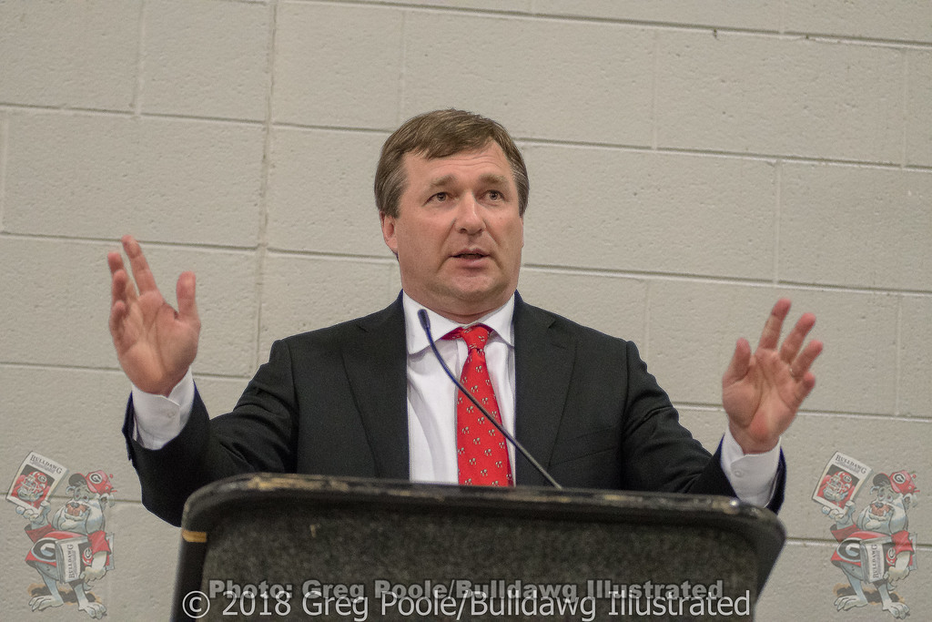 Kirby Smart - Anderson Area Touchdown Club Annual Awards Banquet - February 28, 2018