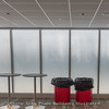 """Fogged windows prevent recruits from receiving a """"premium seat""""."""