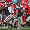 Prather Hudson (24) gets a block from Kearis Jackson (10)
