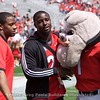 Nick Chubb & Sony Michel with Hairy Dawg