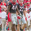 Juwan Taylor (44) and Nate McBride (22)