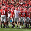 Jake Fromm leads the Red Team offense