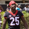 Ahkil Crumpton  - G-Day 2018 - Dawg Walk - April 21, 2018