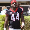 Juwan Taylor  - G-Day 2018 - Dawg Walk - April 21, 2018
