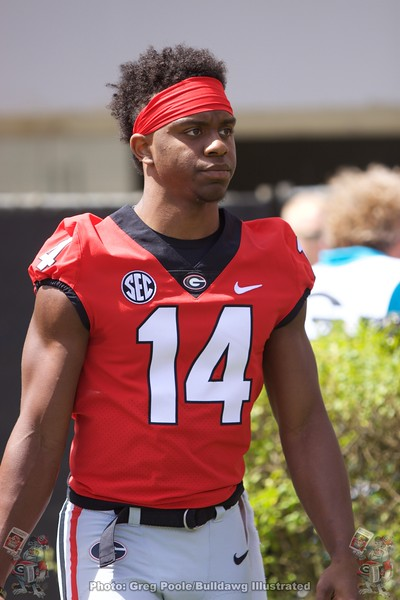 Trey Blount  - G-Day 2018 - Dawg Walk - April 21, 2018