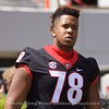 D'Marcus Hayes  - G-Day 2018 - Dawg Walk - April 21, 2018