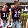 Patrick Bond (37) & Patrick Burke (26)  - G-Day 2018 - Dawg Walk - April 21, 2018