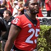 Jaleel Laguins  - G-Day 2018 - Dawg Walk - April 21, 2018