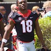 Deandre Baker  - G-Day 2018 - Dawg Walk - April 21, 2018