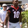 Kearis Jackson  - G-Day 2018 - Dawg Walk - April 21, 2018