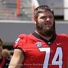 Ben Cleveland  - G-Day 2018 - Dawg Walk - April 21, 2018
