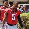 Terry Godwin  - G-Day 2018 - Dawg Walk - April 21, 2018