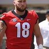 Isaac Nauta  - G-Day 2018 - Dawg Walk - April 21, 2018