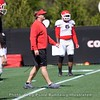Kirby Smart  - Spring Practice Day 13 - April 17, 2018