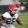 Jaleel Laguins - Spring Practice Day One - March 20, 2018