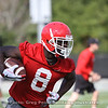 Riley Ridley - Spring Practice Day 1 - March 20, 2018 Photo: Rachel Floyd/Bulldawg Illustrated