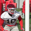 Malik Herring - Spring Practice Day One - March 20, 2018