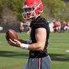 Jake Fromm - Spring Practice Day 1 - March 20, 2018 Photo: Rachel Floyd/Bulldawg Illustrated