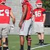 Zamir White - Spring Practice Day 1 - March 20, 2018  --  Photo: Rachel Floyd/Bulldawg Illustrated