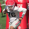 Michail Carter - Spring Practice Day One - March 20, 2018