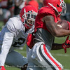 Richard LeCounte (2) and Mecole Hardman