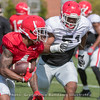 Mecole Hardman (4) and David Marshall (51)