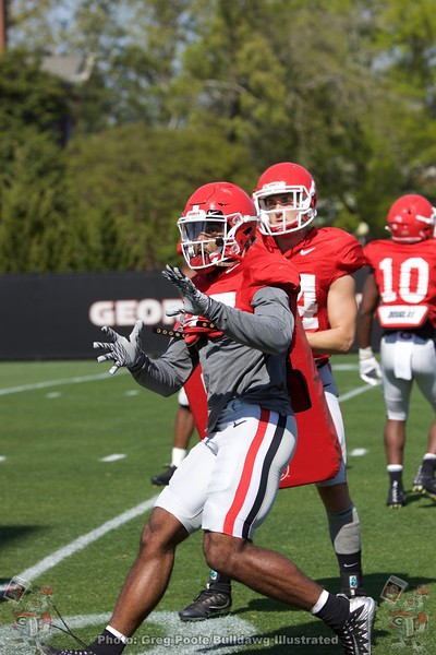Patrick Bond  - Spring Practice Day 11 - April 12, 2018