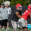 Justin Fields (1) and D'Andre Swift (7)