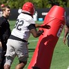 Justin Young  - Spring Practice Day 14 - April 19, 2018