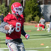 Riley Ridley - 2018 Spring Practice - Day 2 - March 22, 2018