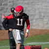 Jake Fromm - 2018 Spring Practice - Day 2 - March 22, 2018
